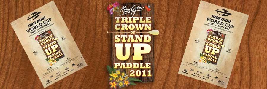 Start zum Finale der Maui Jim Triple Crown of Stand Up Paddle