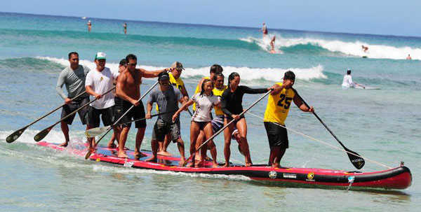 Ching and Appleby take Battle of the Paddle Hawaii | SUP Magazine