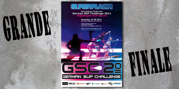 Superflavor German SUP Challenge 2011 – Nightflight SUP Sprint Berlin