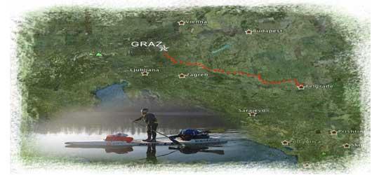 Von Graz nach Belgrad – Der SUP- Trip