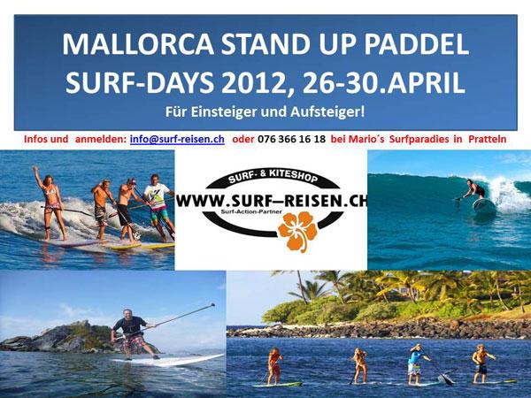 Mallorca SUP Camp mit SUP-Schweiz