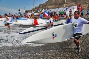 Team Frankreich für Peru 2013 steht