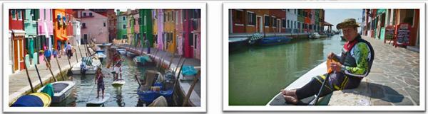 SUP-in-Venedig