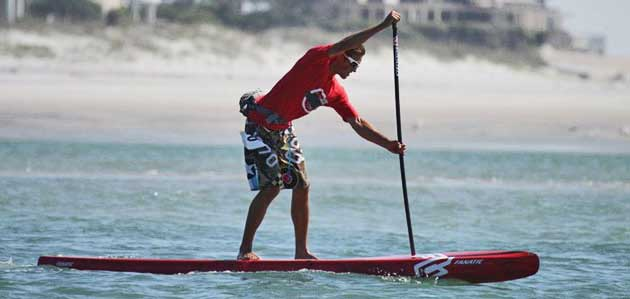 "SUP ""Pro Paddle Clinic"" mit Weltmeister Chase Kosterlitz"