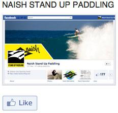Naish teilt Facebookseiten