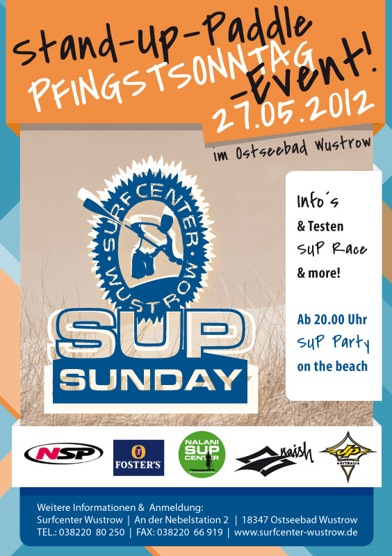 SUP Sunday im Surfcenter Wustrow