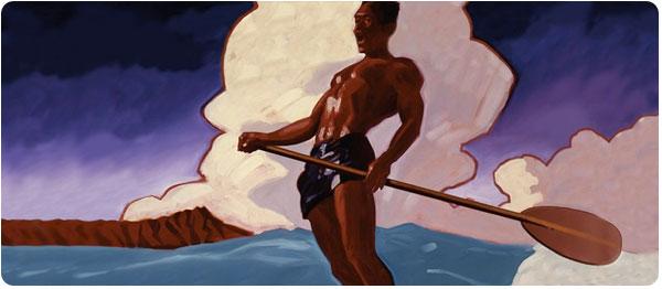 Waikiki_Paddling_painting