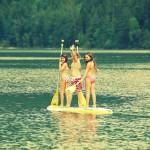 Kinder-Spass-auf-Stand-Up-paddel-brett