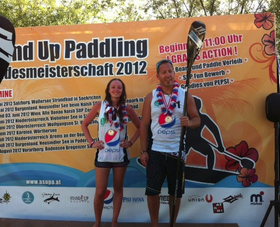 Austrian SUP Race Winners