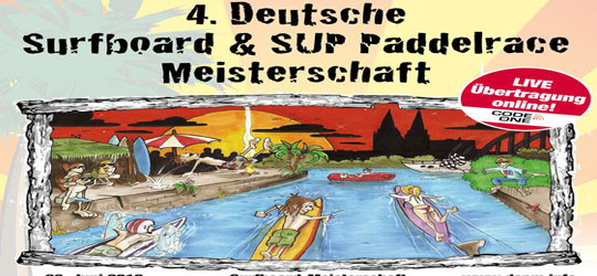 4. Deutsche Surfboard & SUP Paddelrace Meisterschaft