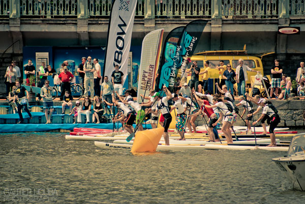 Surf in the City International SUP Race Contest Resultate