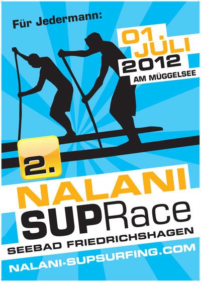 Nalani-SUP-Race-Plakat