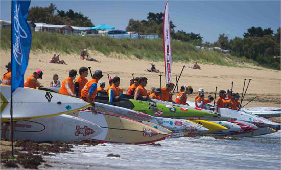 Start-SUP-Beach-Race-Oleron