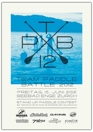 Team Paddle Battle 2012