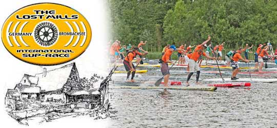 The Lost Mills International SUP-Race