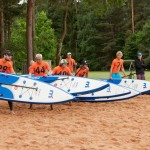 start sup inflatable race