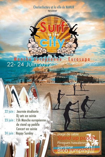 Surf in the City International SUP Race Contest