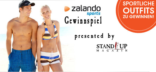 Gewinnspiel mit Zalando und Stand Up Magazin
