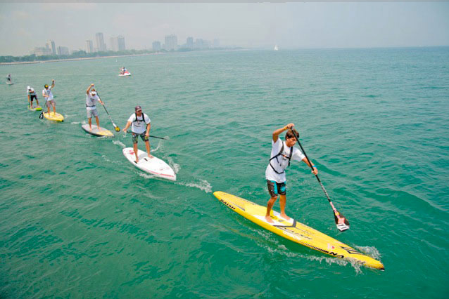 Chicago-SUP-Race