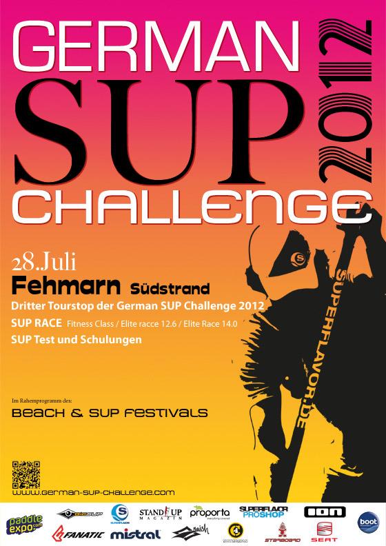 German-SUP-Challenge-Fehmarn-2012-eventplakat