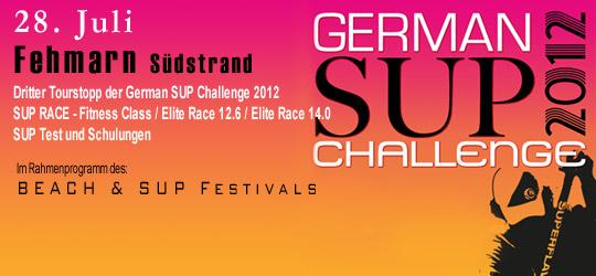 German SUP Challenge 2012 – Fehmarn