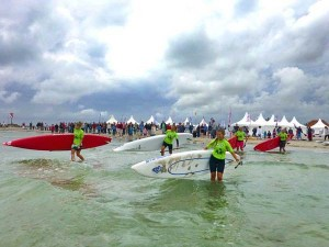 SUP-Festival-Fehmarn-SUP-Frauen-Start