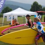 SUP-Rennstart-Frauen-Bermudacup