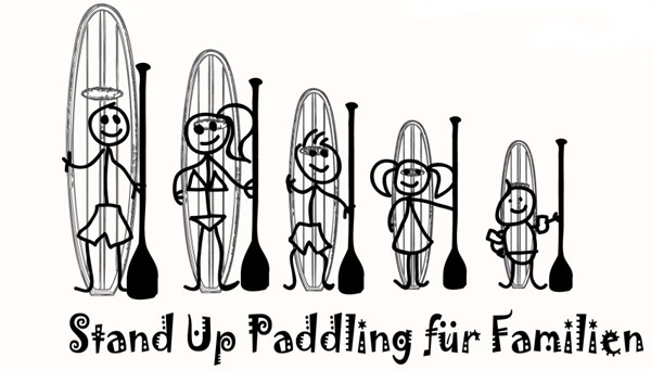 Stand-Up-Paddling-Familiensport