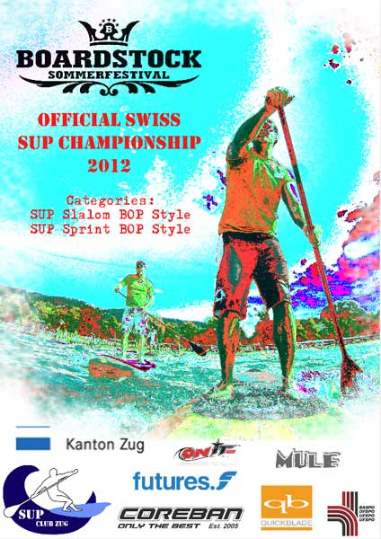 Official Swiss SUP Championships 2012