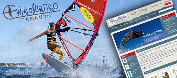 Windsurfing-Hamburg neuer Online Shop auch mit SUP