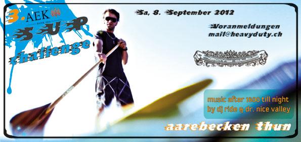 AEK SUP Challenge Thun – 2012
