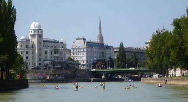 SUP-in-Wien