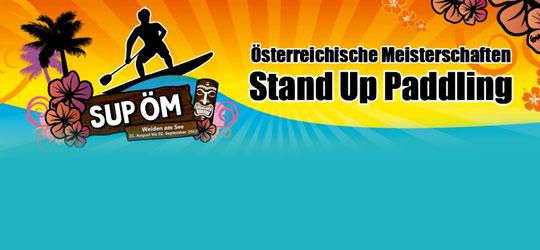 Österreichische Meisterschaften im Stand Up Paddling 2012