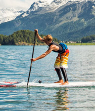 SUP-Silvaplanersee