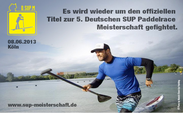 Deutsche SUP Paddelrace Meisterschaft 2013