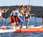 SUP Chiemsee Insel-Marathon  Showdown in der