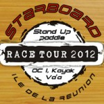 Starboard Stand Up Paddle Race Tour auf La Reunion