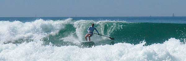 SUP_Surfing_in_Frankreich