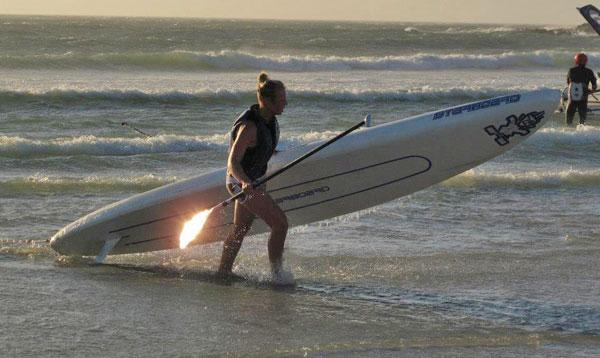 Beachfinish_Downwind_Rennen_Kapstadt