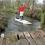 Nalani SUP Surfing Spreewald Camp 2013