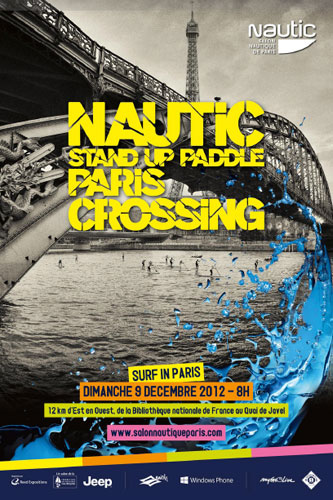 Nautic Stand Up Paddle Paris Crossing 2012
