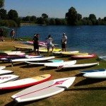 Neues Surf und SUP Center am St. Leoner See