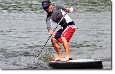 Stand Up Paddle Classic Workshop mit SUP Profi Peter Bartl