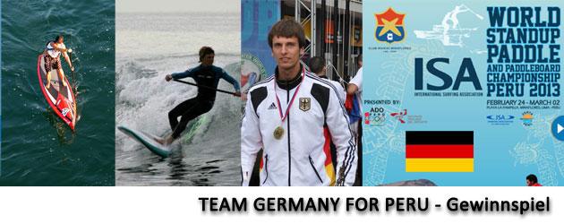 Deutsches SUP Team geht nach Peru und braucht Eure Unterstützung