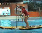 Erste Deutsche Indoor SUP Championships – VIDEO