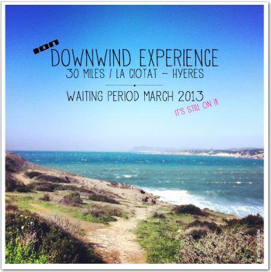 Downwind Experience 2013 – Wartezeit fast vorbei