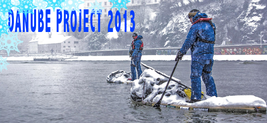 EXTREM – SUP Project Donau 2013