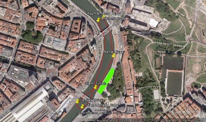 Bilbao_SUP_World_Challenge_Sprint_Race_course