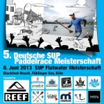Die 5. Deutsche SUP Paddelrace Meisterschaft presented by Reef