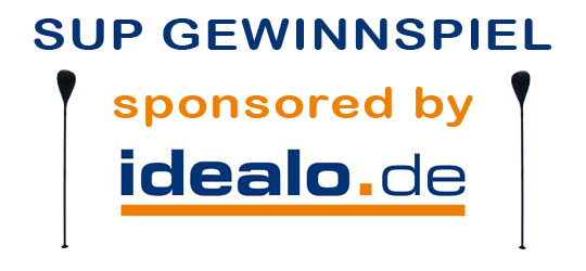 SUP Gewinnspiel sponsored by idealo.de